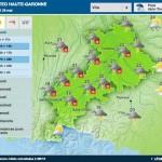 <b>Météo. Des orages et de la grêle annoncés sur Toulouse et sa région</b>