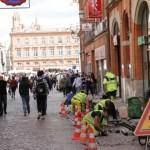<b>À Toulouse, la rue Saint-Rome va très bientôt retrouver un peu de couleur</b>