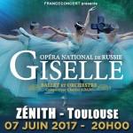 <b>Le Ballet Giselle au Zénith de Toulouse ce mercredi.</b>