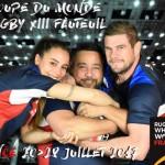<b>Concours : Gagnez vos places pour les demi-finales de la Coupe du Monde de Rugby XIII Fauteuil !</b>