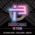 <b>Indochine en concert en mars 2018 à Toulouse</b>
