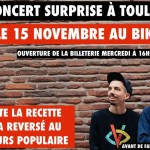 <b>Concert Surprise de Bigflo &amp; Oli à Toulouse le 15 novembre !</b>