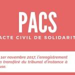 <b>À compter du 01.11.17, l&#039;enregistrement du #PACS se fera désormais en Mairie  http://bit.ly/2vI...</b>