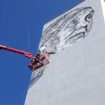 <b>Work in progress... ECB Hendrik Beikirch réalise une nouvelle fresque à Empalot #Toulouse #streetart...</b>