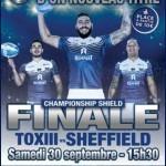 <b>Finale Championship Shield – Date et horaire confirmés, billetterie ouverte</b>