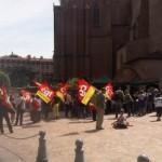 <b>Les fonctionnaires dans les rues de Toulouse</b>