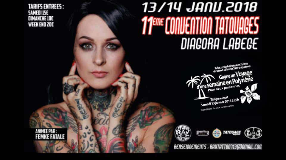 11e dition du salon du tatouage en janvier 2018 toulouse toulouse - Salon du tatouage toulouse ...