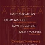 <b>Concert Ensemble Vocal Quinte et Sens</b>