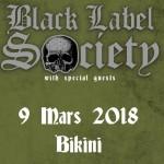 <b>Concours : Gagnez vos places pour Black Label Society au Bikini !</b>