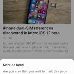 <b>Experiment 04 — Mark As Read</b>