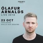 <b>Le compositeur islandais Olafur Arnalds en octobre 2018 à Toulouse</b>
