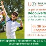 <b>Initiations au golf de Toulouse-Seilh pour les plus jeunes !</b>