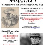 <b>Armistice ! Rencontres autour de 14-18</b>