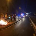 <b>Yvelines. Flins: des gilets jaunes embarqués la police. Buchelay: nouvelle opération nocturne au p...</b>