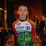 <b>Benjamin Cornu, cycliste de Vire Normandie, futur champion du Calvados?</b>