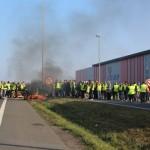 <b>EN IMAGES. Ce qu&#039;il faut retenir de la mobilisation des gilets jaunes de Caen, ce samedi 17 nov...</b>