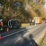 <b>Un jeune homme de 23 ans blessé dans un accident à Douville-en-Auge</b>