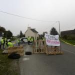 <b>Mûr-de-Bretagne : les gilets jaunes sont mobilisés aussi</b>