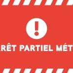 <b>En raison de manifestations, des perturbations sont en cours sur l&#039;ensemble du réseau. La ligne...</b>