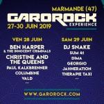 <b>Sept nouveaux noms pour Garorock 2019 !</b>