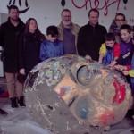 <b>Les enfants donnent une seconde vie aux anciens chars du Carnaval de Granville, patrimoine immatérie...</b>