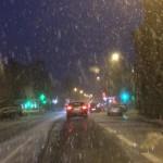 <b>La neige est arrivée sur le Pays de Fougères</b>