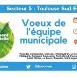 <b>[#Voeux2019] Ce soir à 18h30, nous vous donnons rendez-vous au B612, à #Montaudran, avec les maires ...</b>