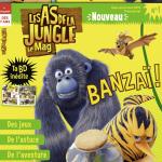 <b>Les As de la Jungle se retrouvent dans un nouveau magazine pour enfants !</b>