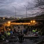 <b>Paris : nouvelle évacuation d'un camp de migrants dans le nord de la capitale</b>