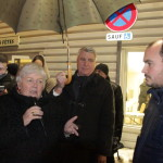 <b>Le Perray-en-Yvelines : action des agriculteurs lors de la visite du ministre</b>
