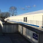 <b>Travaux du tramway: à quoi servent les tentes installées sur le chantier à Caen ?</b>