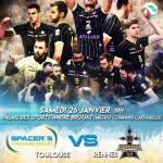 <b>Volley : Réception de Rennes pour les Spacer's Toulouse</b>