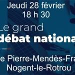<b>Grand débat : réunion d&#039;initiative locale organisée à Nogent-le-Rotrou</b>