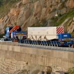 <b>Un convoi de près de 70 m pour acheminer un rotor à Flamanville</b>