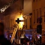 <b>Lyon : une femme et un enfant meurent dans une explosion suivie d'un incendie</b>