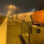 <b>Saint-Malo : un tag « Kaaris vs Booba » de 210 m2 réalisé dans la nuit sur un TGV</b>