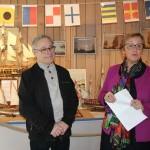 <b>INTERVIEW. A Dinan, Gérard Colson expose 500ans d'histoire de la Marine</b>