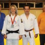 <b>JUDO CLUB DU NEUBOURG (Eure). La vice-championne du monde masters Elodie Carême en visite</b>