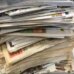 <b>L&#039;école Pasteur à Mamers collecte du papier</b>