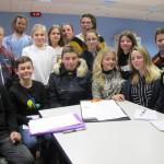 <b>Journée des Métiers à Moulins-la-Marche : les collègiens combattent les idées reçues</b>