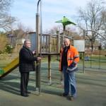 <b>De nouveaux aménagements pour rendre le jardin public de L'Aigle encore plus agréable</b>