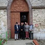 <b>À Radepont dans l&#039;Eure, les élus ont accueilli la sous-préfète</b>