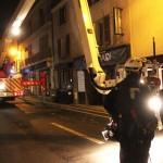 <b>Val-d'Oise. Chute de cheminée à Pontoise (suite): la rue de Rouen temporairement fermée</b>