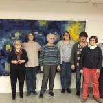 <b>Conches : 1800 carrés de tricot pour reproduire une toile de Van Gogh</b>