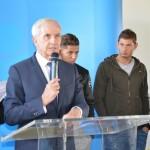 <b>A Basse-Goulaine, la mairie donne le nom d'Emiliano Sala à sa tribune de foot</b>