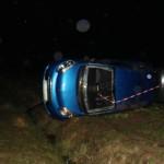 <b>Une voiture finit sa course dans le champ près de Grandvilliers</b>