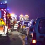 <b>Important bouchon et bretelle d&#039;autoroute coupée après un accident, près de Toulouse</b>