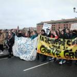 <b>EN IMAGES. Toulouse : gilets jaunes, syndicats et autres manifestants défilent pour la grève généra...</b>