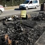 <b>Toulouse : la cabane des gilets jaunes totalement détruite par un incendie</b>