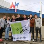 <b>Manche : ces sept étudiants de Saint-Lô vont faire un tour de l'ex-Basse-Normandie en vélo élec...</b>